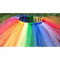 Tutu- Pollera Tull- Disfraz Para Princesas