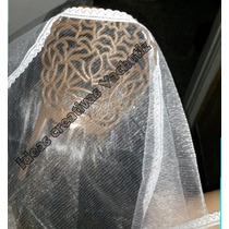 Mantilla Para Disfraz Dama Antigua
