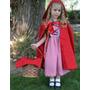 Disfraz De Caperucita Roja. Niñas