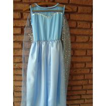 Disfraz Vestido De La Princesa Elsa (frozen)