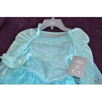 Vestido Elsa - Disney Store Original-importado Usa