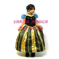Disfraz Coronación Frozen Anna Princesa Disney Vestido