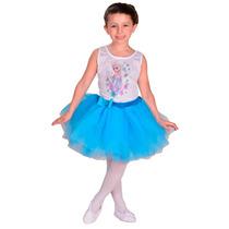 Disfraz Frozen Elsa Bailarina Con Licencia Disney Original