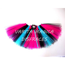 Tutu Disfraz Frozen Monster High Tinkerbell Minnie Princesas