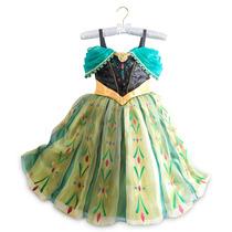 Disfraz Frozen Anna Coronación Edición De Lujo! Disney Store