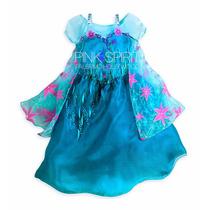 Disfraz Elsa Frozen Fever Fiebre Congelada Disney Store