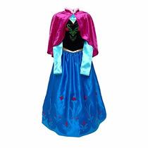 Frozen Disney Disfraz De Elsa O Anna Jugueteria Bunny Toys