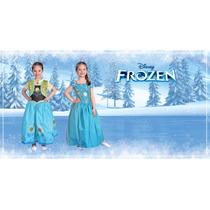 Disfraz Elsa Frozen Fiebre Congelada -somos Los Juguetes-