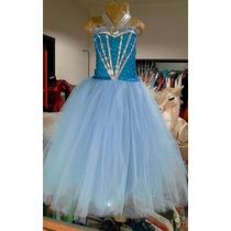 Traje Disfraz De Elsa (frozen), Princesas