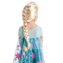 Peluca Disfraz Frozen Elsa Disney Store Mp Envios Cuotas