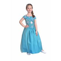 Disfraz Frozen Elsa Fever Licencia Disney Original New Toys
