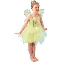 Disfraz Tinkerbell Campanitas Fairies Luces Deluxe Talle S
