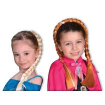 Trenza De Disfraz Frozen, Elsa O Anna, Original! - Din Don