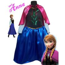 Disfraz Princesa Anna De Frozen