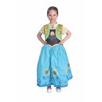 Disfraz Frozen Anna Fever Licencia Disney Original New Toys