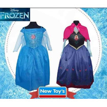 Disfraz Frozen Anna Elsa Disney Original New Toys Talle 1, 2