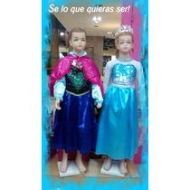 Vestido + Zapato: Frozen, Tinkerbell, Sirenita, Princesas