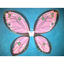 Alas De Hadas Mariposa De Tul Colores Nuevos 55x45 Cm Rosa