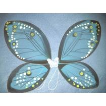 Alas De Hadas Mariposa De Tul Colores Nuevos 55x45 Cm Azul