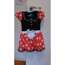 Disfraz Vestido Minnie Mouse Disney Importado Usa T 2