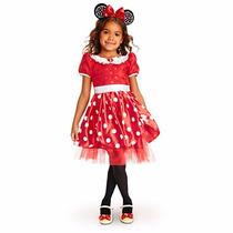 Disfráz Minnie Original Disney Store - Regalo Día Del Niño