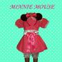 Disfraz De Minnie Mouse Rosa O Rojo
