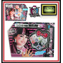 Monster High Draculaura Set De Maquillaje Peluca Uñas De Tv