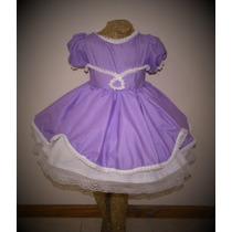 Vestido Disfraz Princesa Sofia