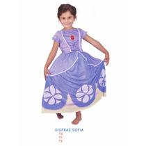 Disfraz Princesa Sofia, Plim Plim ,princesa Dorada New Toys