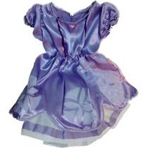 Disfraz Princesa Sofia Artesanal Talle 1 Para 5/6 Años