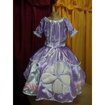 Vestido Princesa Sofia De Luxe