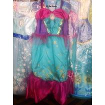 Disfraz Nena De Ariel, La Sirenita Imp. Exc. Calidad Urquiza