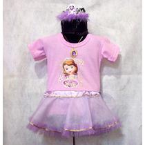 Disfraz Inspirado Princesa Sofia Tutu Corona Dije Brovillnet