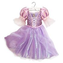 Vestido Rapunzel Disfraz Disney Store Modelo 2016 Importado