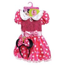 Disfraz De Minnie Con Vincha. Importado Usa