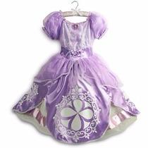 Nuevo Disney Store Usa Disfraz Princesita Sofia T. 5/6