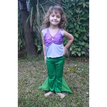 Disfraz De Sirenita !!!! Ideal Para Niñas Pequeñas