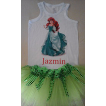 Disfraz De La Sirenita Ariel