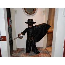 Disfraz De El Zorro - Único!