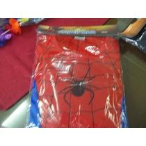 Disfraz Del Hombre Araña Para Niños De 3, 5 Y 7 Años