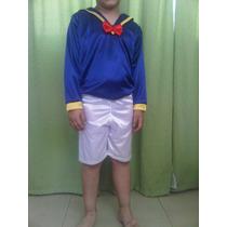 Disfraz Pato Donald, Niño C/pompon En La Cola!!!