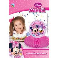 Minnie Deco Mesa Adorno Mouse Mickey Nena Cumple Tematica