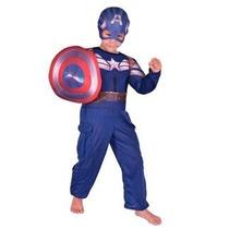 Disfraz Del Capitan América 2014 New Toys