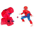 Spiderman Hombre Araña 2 Puños Gigantes Acolchados + Disfraz