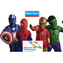 Disfraz Iron Man Capt America Spiderman Hulk Originales