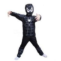 Disfraz Spiderman Negro Venom Hombre Araña Varios Talles