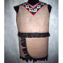 Disfraz Indio Aborigen Fliselina Niños Brovillnet