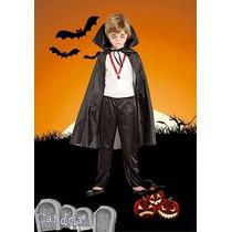 Disfraz Halloween Dracula Completo! Niño Variedad! Jiujim