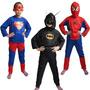Disfraz De Superman, Batman, Spiderman, Goku, Ben 10