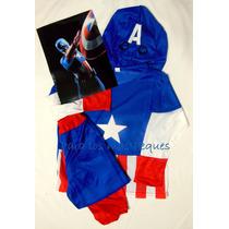 Disfraz Capitán América Para Niños